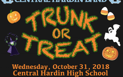 Band to hold trunk or treat