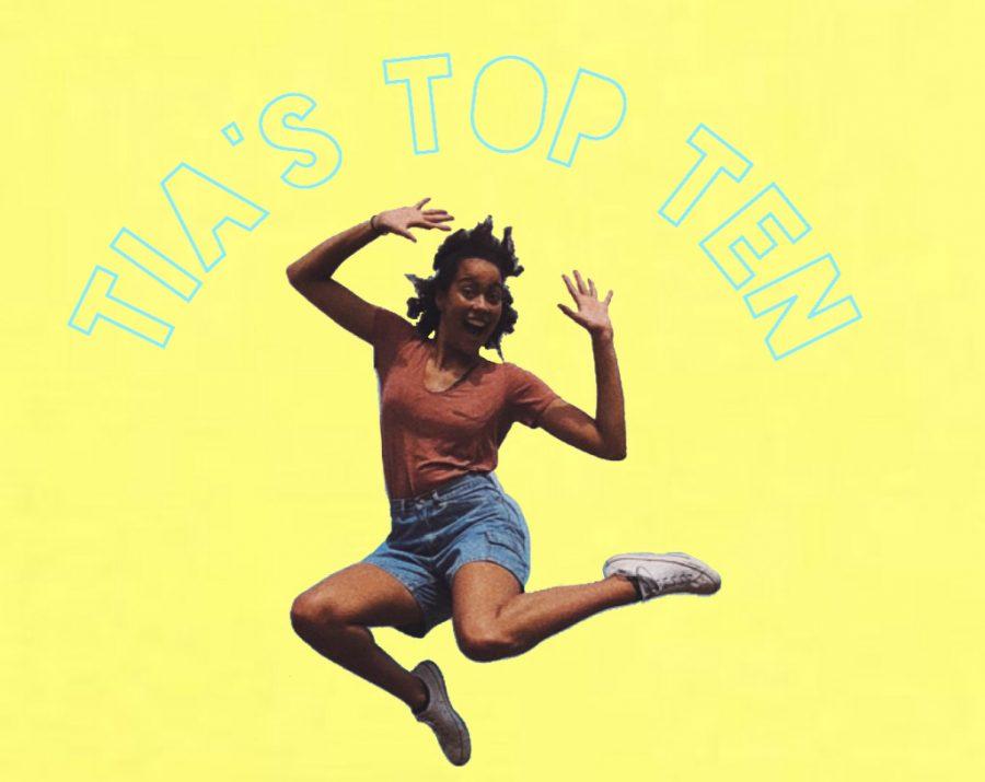 Tia's Top Ten – Thanksgiving Edition