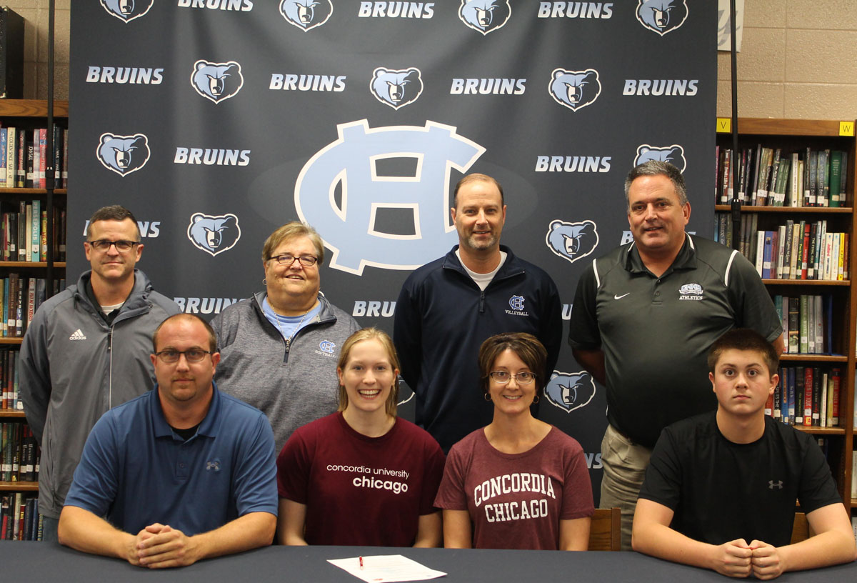 Tori+Steele+%28volleyball%29+-+signed+with+Concordia+University+Chicago+Front+-+Eric+Steele+%28Father%29%2C+Victoria%2C+Katie%28Mother%29+Nicholas+%28Brother%29+Back+-+Mike+Ford+%28+Club+Coach%29%2C+Rita+Highbaugh+%28+Assistant+Coach%29+Bill+Rineker+%28Head+Coach%29%2C+J.C.+Wright%28Athletic+Director%29