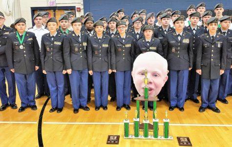 Drill Team wins North Bullitt Meet