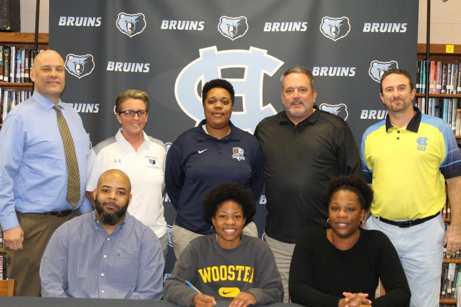 Jordan+Isom+signs+with+the+basketball+and+golf+programs+at+Wooster+College+in+Wooster%2C+Ohio%2C+on+March+18.+