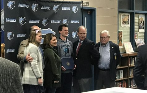 Senior Jackson Flanagan appointed to the U.S. Naval Academy