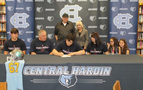 Central athletes commit to the next level