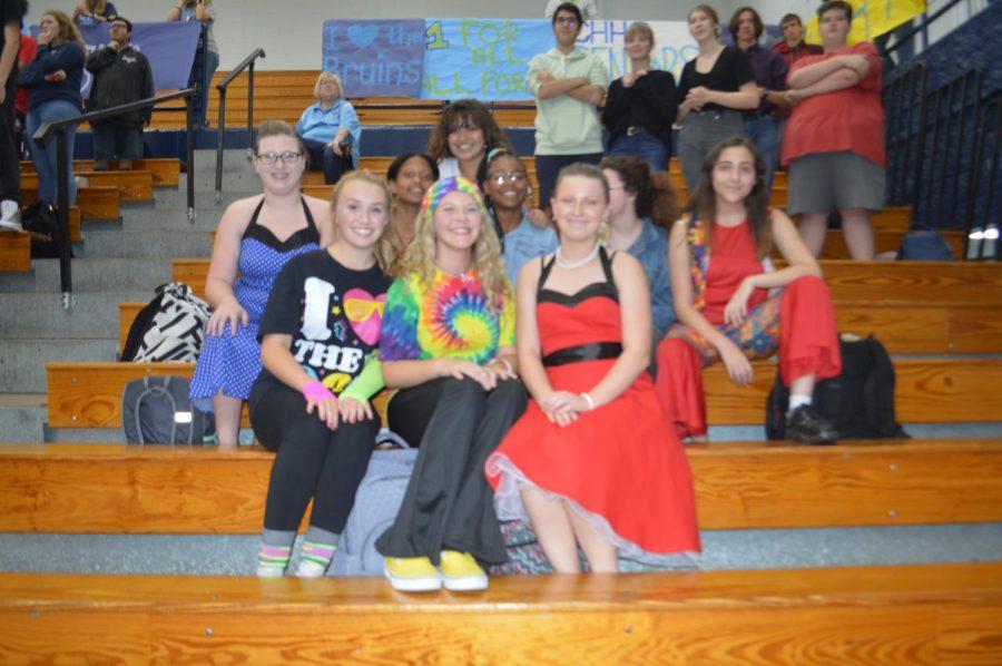 CHHS dance team