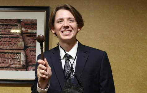 Ian Simpson Becomes First Central Student to Win Office at KYA in Four Years