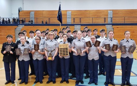 JROTC Successful at Hardin County Drill Cup
