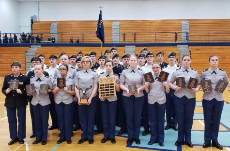 The Central Hardin Bruins finish their regular drill season with an 80-1 record after winning their 7th straight Hardin County Drill Cup on 5 March.  The team will compete at the SGM Paul Gray JROTC Drill Championship at North Hardin on 14-15 March.