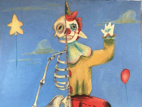 Student Art Featured on Digital Bulletin Board