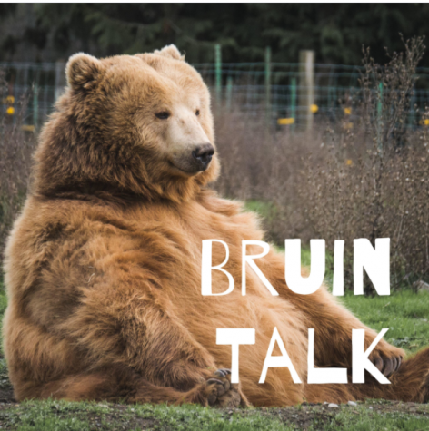 Cover for the Bruin Talk Podcast
