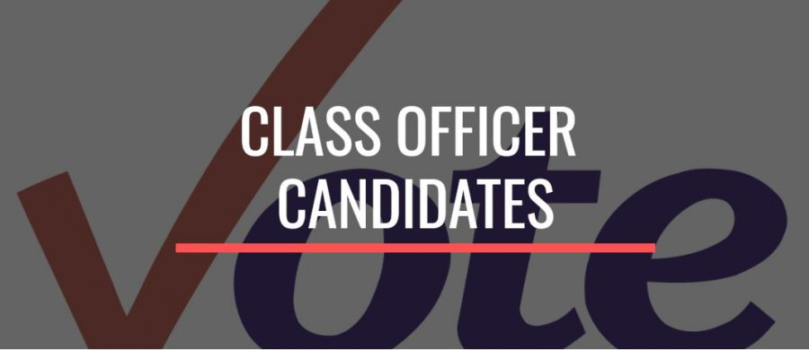 VOTE FOR CLASS OFFICERS