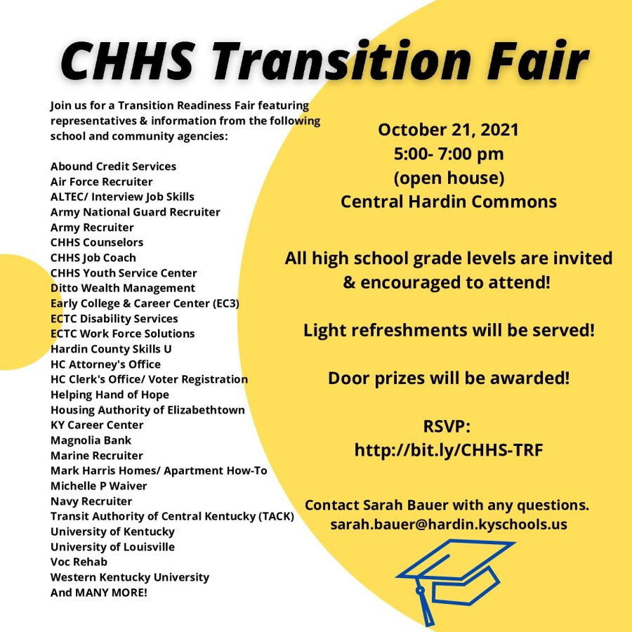 CHHS to Host Transition Fair on Oct. 21