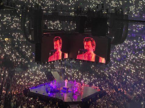 Harry Styles at the Bridgestone Arena on Sept.29